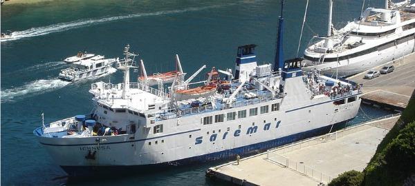 traghetti saremar rotte navi e offerte 2016